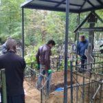 Перезахоронение С. И. Фуделя. Вскрытие могилы на Старом кладбище