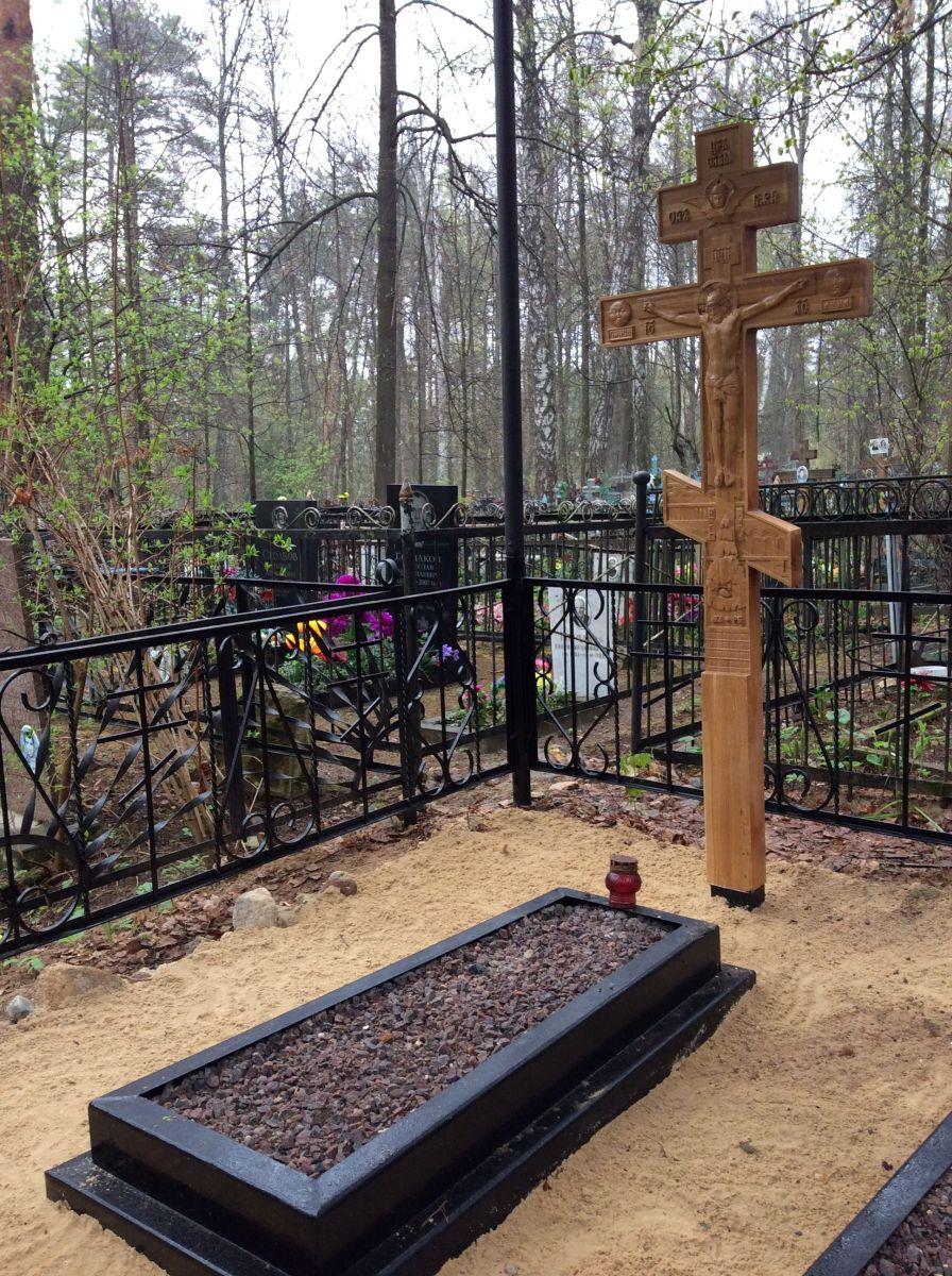 Восстановление могилы С.И.Фуделя на Покровском кладбище